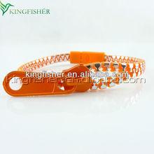 Top Fashion mens zipper bracelets!! New fashion zipper bracelets bangle plastic zipper bracelets wholesales!! Stocking!! !!