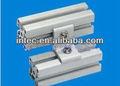 4040 perfis de alumínio- acessórios 2 furo de conexão paralela de ângulo