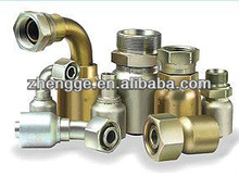 BSP/NPT Thread Hydraulic Pipe Fittings