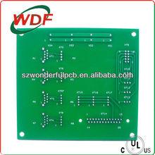 single sided green solder fr2 prototype pcb design