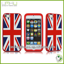 Banner series United Kingdom mobile phone protection case for iphone 5