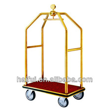 strong and durable hotel luggage cart/trolley