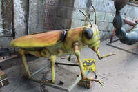 Insects Realistic Model Plastic Grasshopper Model