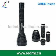Cree XM-L T6 7-LED rechargeable 15 watt cree led flashlight