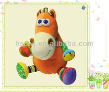 smart horse cuddly stuffed plush kids toys