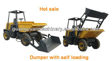 dump truck 2 Ton mini Self loading dump truck