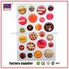 Popular customized round clear epoxy sticker