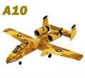 A10 2.4g rc avião 4ch jet avião planador warbird rtf motor brushless