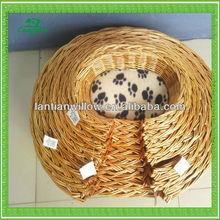 willow pet house basket ,wicker pet house basket
