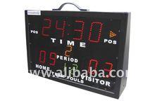 Portable Electronic Basketball Scoreboard