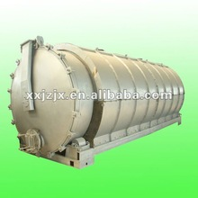 Durable and efficient pyrolysis lant of rubber