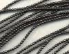 Beads Round Smooth Hematite