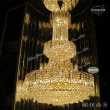ขนาดใหญ่ที่สวยงามโคมไฟโคมระย้าสำหรับโรงแรมโครงการวิetl800032