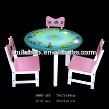 616B kids furniture /wooden kids table and chair