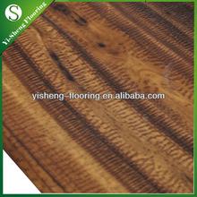 Factory hot selling waterproof wood glueless commercial vinyl flooring discount
