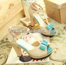 Hot selling fashion sandal shoe woman shoes summer 2014 shoes summer