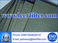 in acciaio inox sinterizzato feltro di fibra