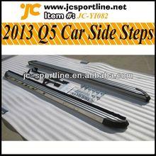 2013 q5 navegador q5 alumínio lado auto pedal passos laterais nerf barra lateral do carro alumínio estribo para audi