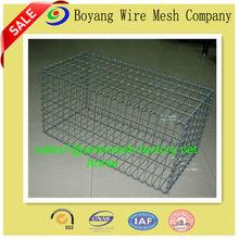 rock filled gabion baskets /cage for river bank