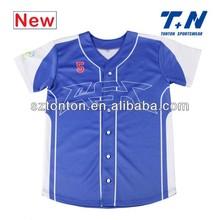 new fashion style customized baseball clothes