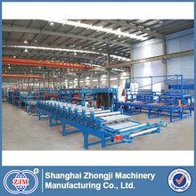 Zhongji Mineral Wool/Glass Wool/EPS Sandwich Panel Production Line