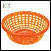 Gold Ingot Plastic Storage Basket Vegetable Empty Fruit Baskets