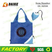 OEM Personalized Reusable Eco Custom Nylon hot popular shopping bag DK-NZ058