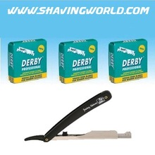 Derby Professional Single Edge Straight/Barber Razor Blades