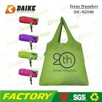 Durable High Quality Eco Foldable Nylon OEM Custom printing reusable shopping bag DK-NZ096