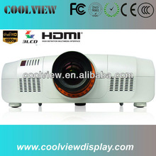 full HD 1920*1200 pixels high brightness 10000 lumens full HD 3 LCD video projector 10000 lumen