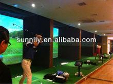screen golf simulator