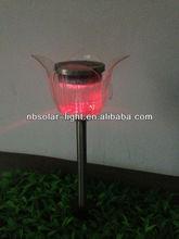 colour change solar flower outdoor light,garden solar light lawn