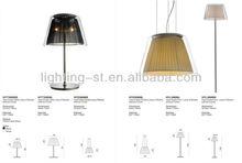 Decorative Modern desk lamp table light fabric lampshade