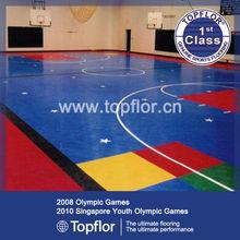 New Design Of Indoor Basketball Court Installation