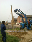 Multifunctional automatic earth digging machine