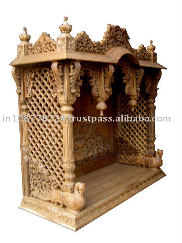 Wooden Temple Designs For Home Pooja Mandir