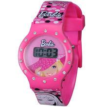 fancy lovely diamond pink watch for kids