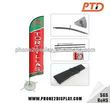 Advertising Feather Teardrop Beach Flag Base