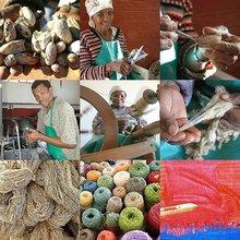 Kalahari Wild Silk Scarfs and Shawls