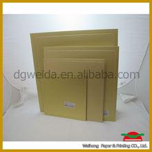 Gold cake board