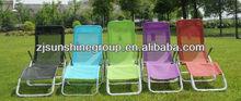 Folding garden recliner chair