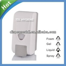orange soap dispenser