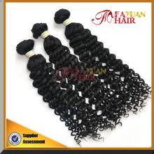 Virgin Temple 14-36 inch Human Hair Extension Kinky Curly Hair Indian