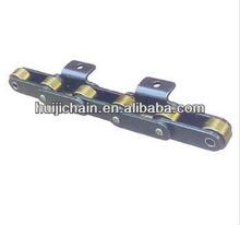 big roller chain double pitch roller chain with attachments