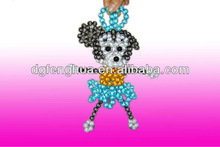 Original and poular handicraft ! crystal bead Mickey Mouse gifts for key and handbag decorative