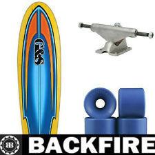 Backfire skateboard old school plastic skateboard