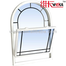 PVC modern america double glazed garden pvc windows and doors