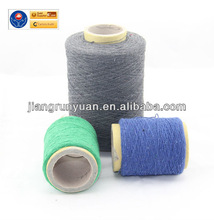 100% cotton and polyester dark color for mop yarn exported to Sri Lanka