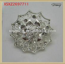 XSXZ2697711 fashion polygon metal brooch