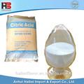 acidulantes de ácido cítrico para alimentos